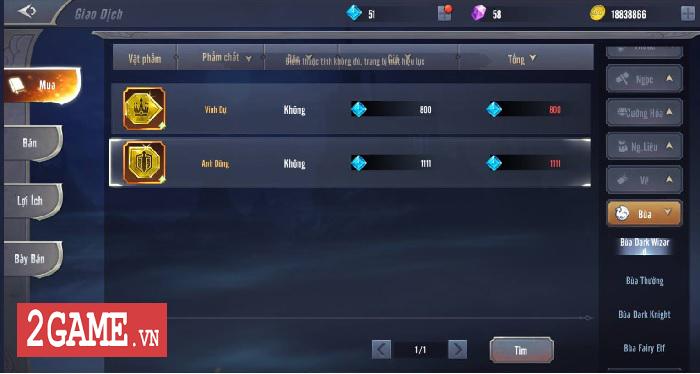 Game thủ MU Awaken VNG thi nhau khoe những loại bùa siêu hiếm siêu mạnh 3
