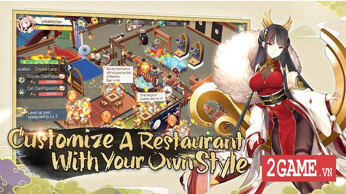Yokai Kitchen - Game quản lý nhà hàng với đồ họa đậm chất Âm Dương Sư 1