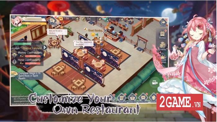 Yokai Kitchen - Game quản lý nhà hàng với đồ họa đậm chất Âm Dương Sư 2