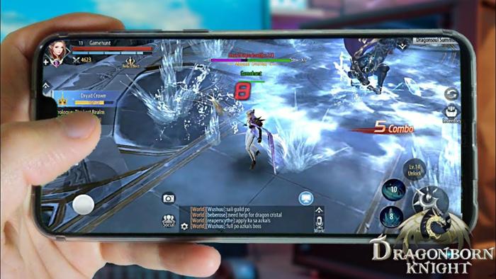 Dragonborn Knight  - Game nhập vai lấy bối cảnh phương Tây huyền bí 2