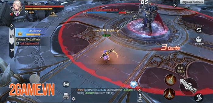 Dragonborn Knight  - Game nhập vai lấy bối cảnh phương Tây huyền bí 1