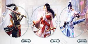 Tham gia vào game nhập vai Kiếm Vương Truyền Kỳ bạn sẽ chọn môn phái nào?