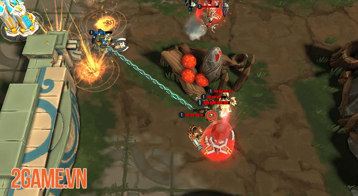 Paragon Kingdom: Arena - Đấu trường MOBA 2vs2 mang đậm chất thần thoại 1