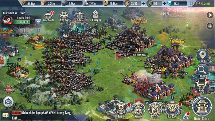 Tam Quốc Vương Giả Mobile khai mở tiếp giải đấu Lạc Dương Đỉnh Chiến mùa 2 0