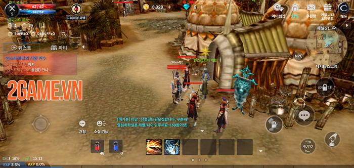 Game nhập vai kinh điển Cabal Mobile bước vào phiên bản chính thức 0