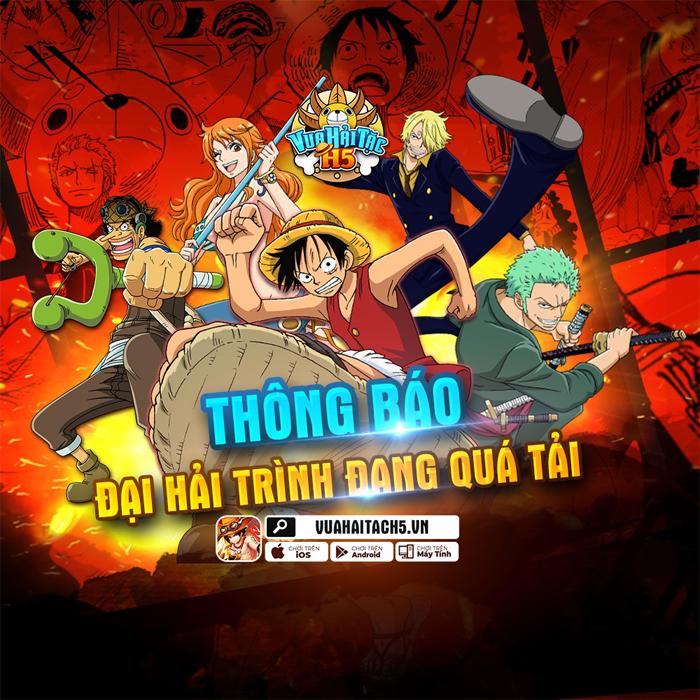 Vua Hải Tặc H5 chính là tựa game đa nền tảng đầu tiên về One Piece 0