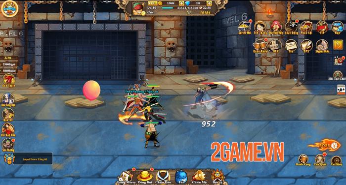 Vua Hải Tặc H5 chính là tựa game đa nền tảng đầu tiên về One Piece 2