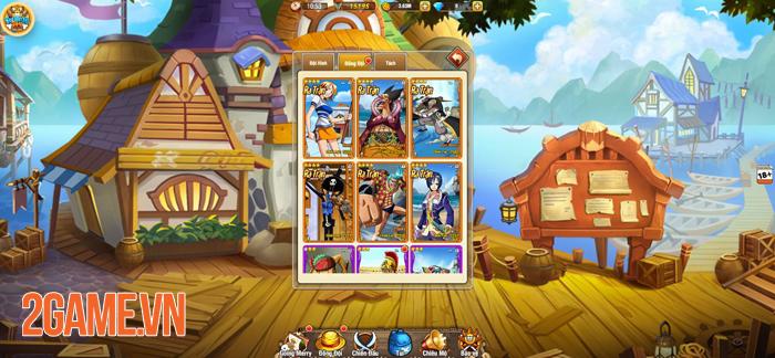 Vua Hải Tặc H5 chính là tựa game đa nền tảng đầu tiên về One Piece 1