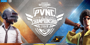 Giải đấu PVNC 2019 đem đến cơ hội thi đấu cho người yêu thích PUBG Mobile