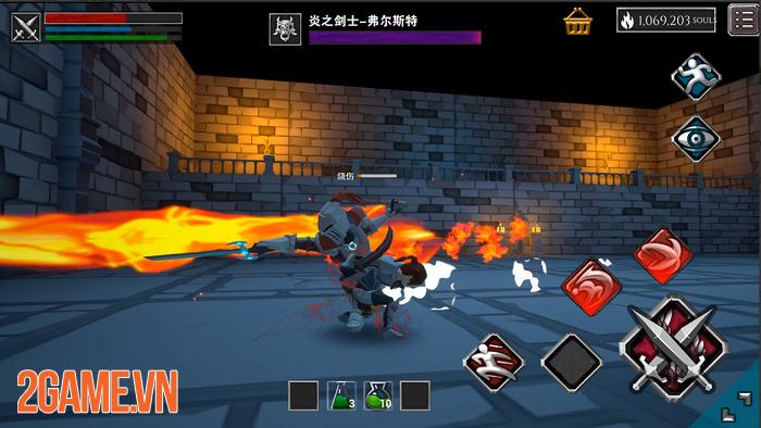 Infinity Souls: Từ lối chơi đến đồ họa đều gợi nhớ đến series nổi tiếng Dark Souls 0