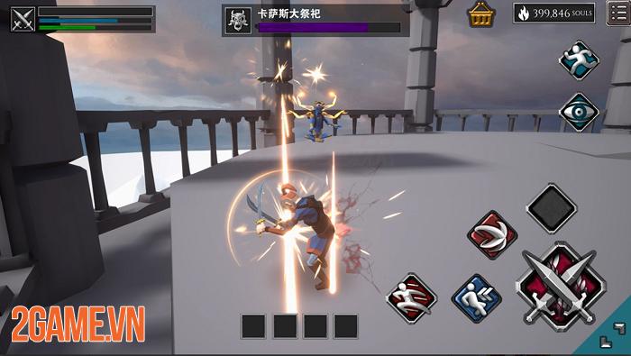 Infinity Souls: Từ lối chơi đến đồ họa đều gợi nhớ đến series nổi tiếng Dark Souls 1