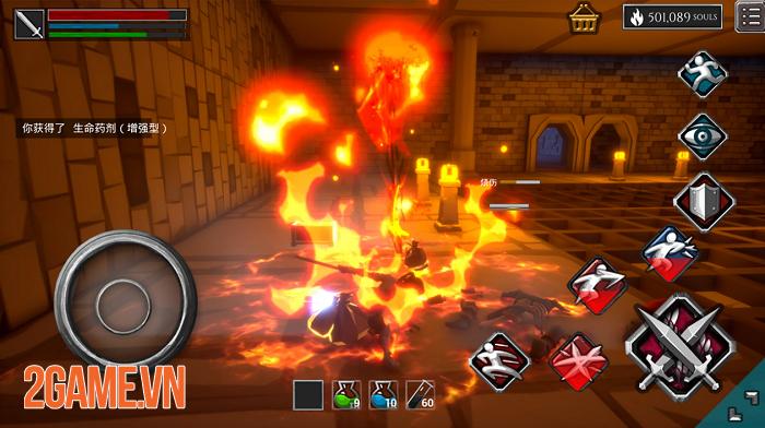 Infinity Souls: Từ lối chơi đến đồ họa đều gợi nhớ đến series nổi tiếng Dark Souls 2
