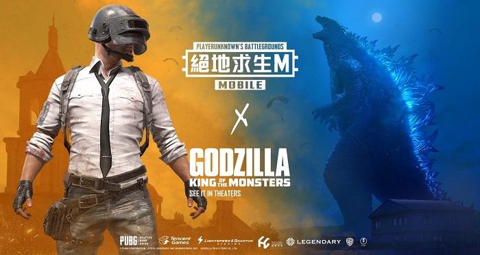 PUBG Mobile tung sự kiện hot nhận 1000 vé xem phim Godzilla miễn phí hoặc 1500 Giftcode in-game 0