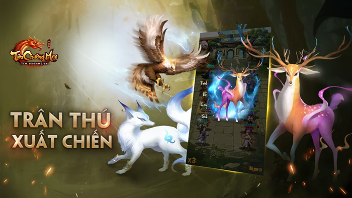 Tân Chưởng Môn VNG cũng cho người chơi tự do đi bắt Trân Thú như kiểu game nhập vai 0