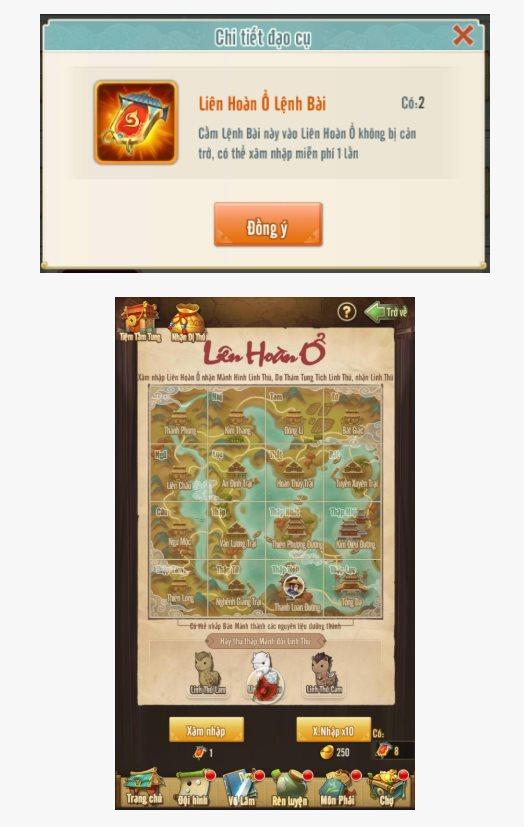 Tân Chưởng Môn VNG cũng cho người chơi tự do đi bắt Trân Thú như kiểu game nhập vai 1
