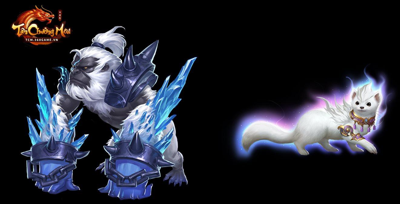 Tân Chưởng Môn VNG cũng cho người chơi tự do đi bắt Trân Thú như kiểu game nhập vai 4