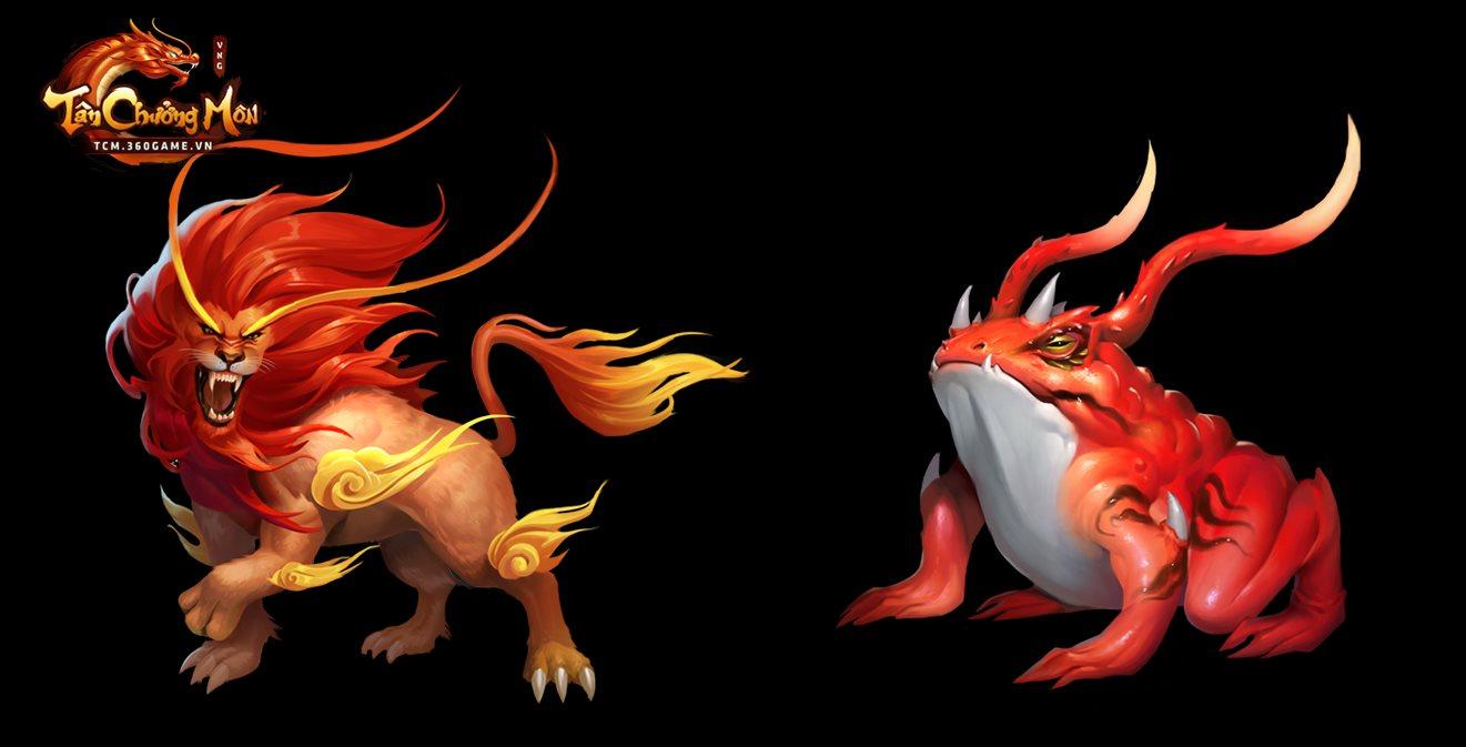 Tân Chưởng Môn VNG cũng cho người chơi tự do đi bắt Trân Thú như kiểu game nhập vai 6