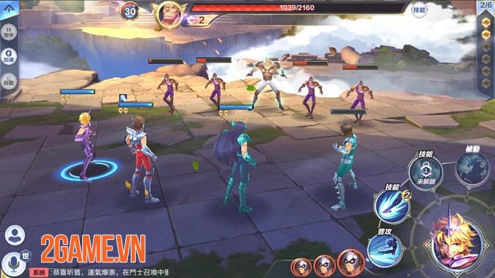 Saint Seiya: Awakening - Game nhập vai lấy chủ đề Áo giáp vàng sắp ra mắt bản tiếng Anh 3
