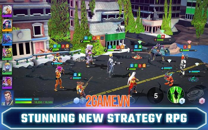 Crystalborne: Heroes of Fate - Game đấu tướng lấy bối cảnh siêu anh hùng tương lai mới lạ 2