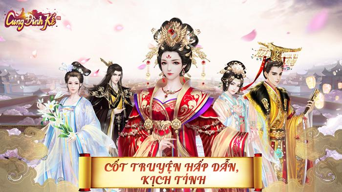 Việt Nam xuất hiện game cung đấu đồ họa 3D đầu tiên mang tên 360mobi Cung Đình Kế 0