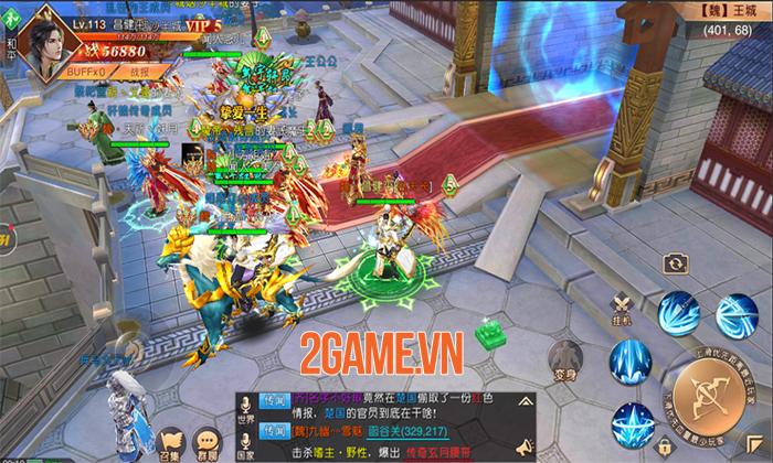 SohaGame sắp ra mắt game mới Tân Thiên Hạ Mobile - Game nhập vai quốc chiến rực lửa 3