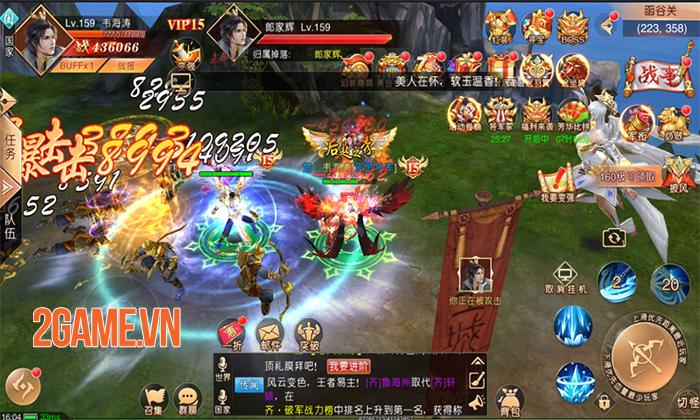 SohaGame sắp ra mắt game mới Tân Thiên Hạ Mobile - Game nhập vai quốc chiến rực lửa 8