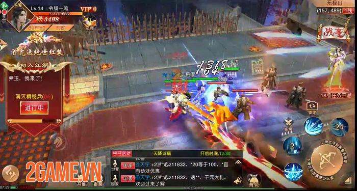 SohaGame sắp ra mắt game mới Tân Thiên Hạ Mobile - Game nhập vai quốc chiến rực lửa 2