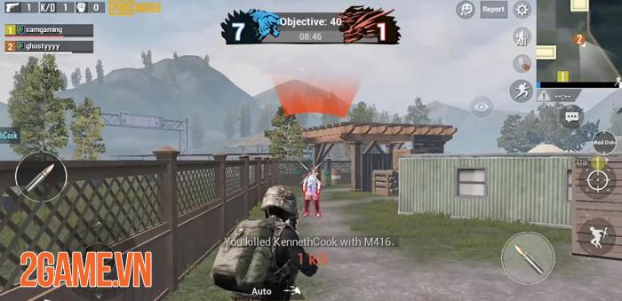 Chế độ chơi Team Deathmatch sẽ góp mặt trong phiên bản 0.13 của PUBG Mobile 2
