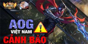 NPH Gamota quyết trừng phạt nặng các game thủ hack AOG Đấu Trường Vinh Quang