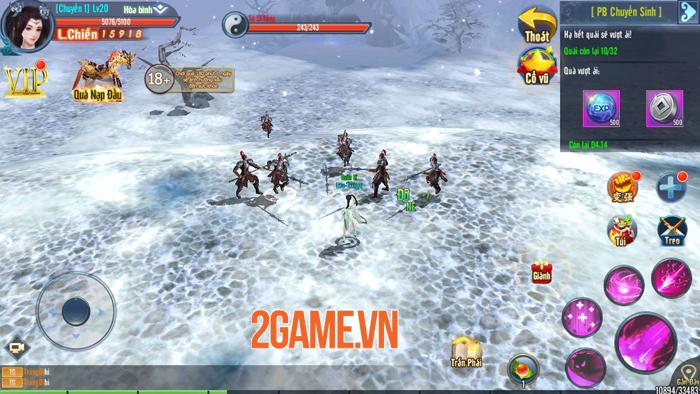 Game võ hiệp Hành Tẩu Giang Hồ Mobile cập bến Việt Nam 4