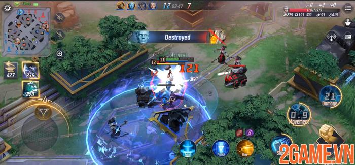 NetEase ra mắt game MOBA di động MARVEL Super War có hỗ trợ cả tiếng Việt 4