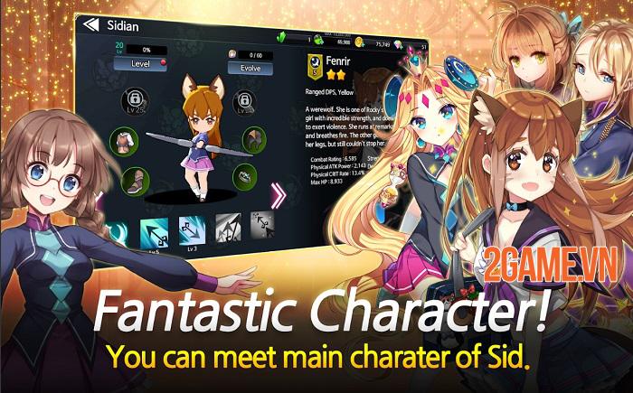 Sid Shock - Game nhập vai chiến tổ đội mang nội dung Anime thú vị 0