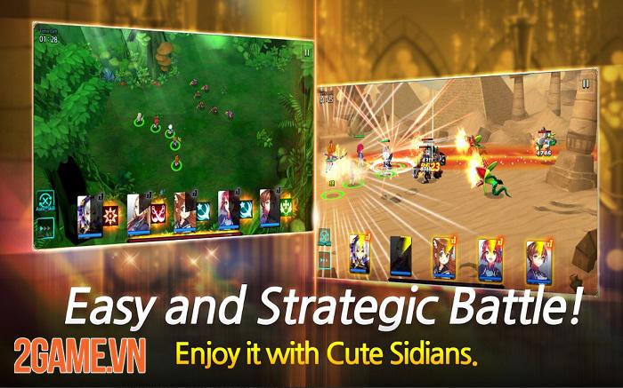 Sid Shock - Game nhập vai chiến tổ đội mang nội dung Anime thú vị 1