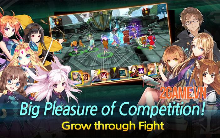 Sid Shock - Game nhập vai chiến tổ đội mang nội dung Anime thú vị 3