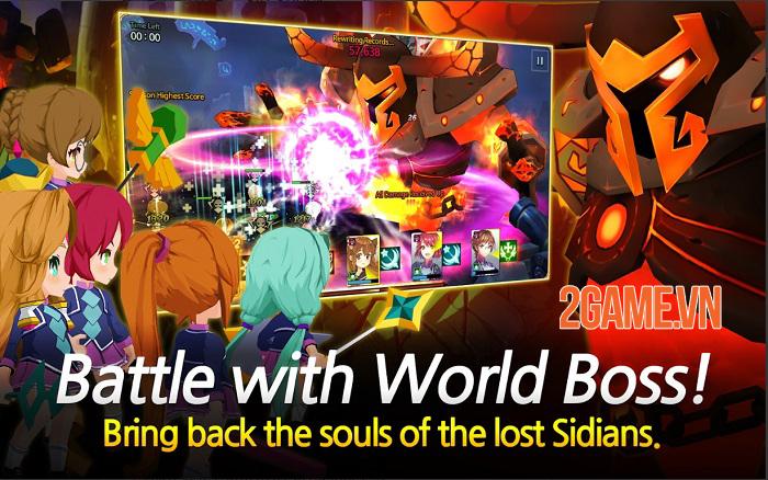Sid Shock - Game nhập vai chiến tổ đội mang nội dung Anime thú vị 4