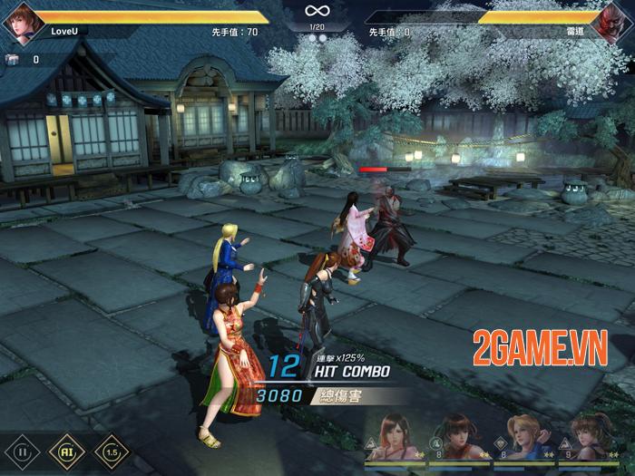 Dead or Alive Mobile thay đổi từ thể loại game đối kháng thành đấu thẻ tướng 2