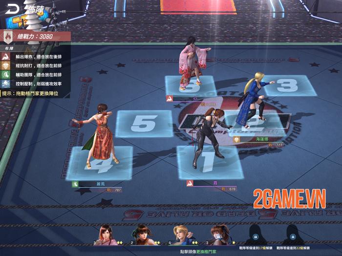 Dead or Alive Mobile thay đổi từ thể loại game đối kháng thành đấu thẻ tướng 1