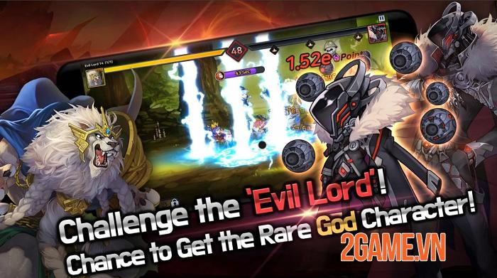 60 Seconds Hero: Idle RPG - Game nhập vai đấu tướng tự động với đồ họa ưa nhìn 1