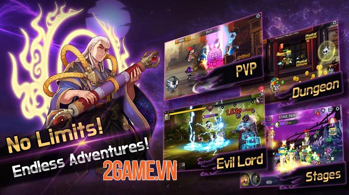 60 Seconds Hero: Idle RPG - Game nhập vai đấu tướng tự động với đồ họa ưa nhìn 2
