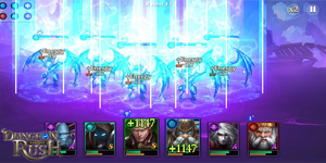 Dungeon Rush: Rebirth – Game nhập vai đấu tướng phong cách Dark Fantasy hấp dẫn