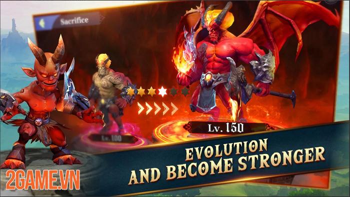 Idle Arena: Evolution Legends cho phép điều khiển những sinh vật chỉ có trong tưởng tượng 1