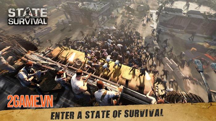 State of Survival - Game chiến thuật sinh tồn đề tài zombie với những khung cảnh chân thực 0