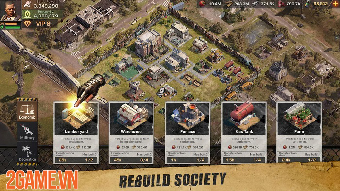 State of Survival - Game chiến thuật sinh tồn đề tài zombie với những khung cảnh chân thực 1