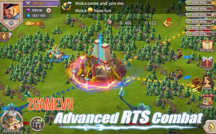 Will of Power - Game chiến thuật thời gian thực với những màn chiến đấu tuyệt đỉnh 4