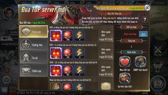 Tặng 555 giftcode Tam Quốc Vương Giả Mobile 3