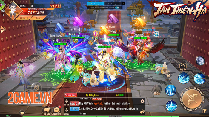 Game nhập vai Tân Thiên Hạ Mobile đưa quyền làm Vua làm Tướng vào tay người chơi 0