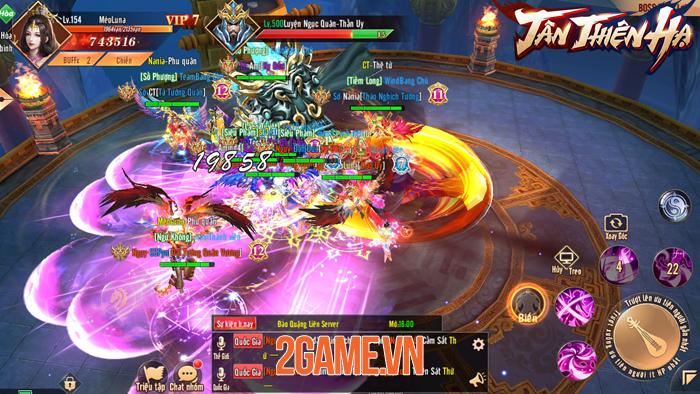 Game nhập vai Tân Thiên Hạ Mobile đưa quyền làm Vua làm Tướng vào tay người chơi 1