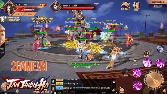 Game nhập vai Tân Thiên Hạ Mobile đưa quyền làm Vua làm Tướng vào tay người chơi 2
