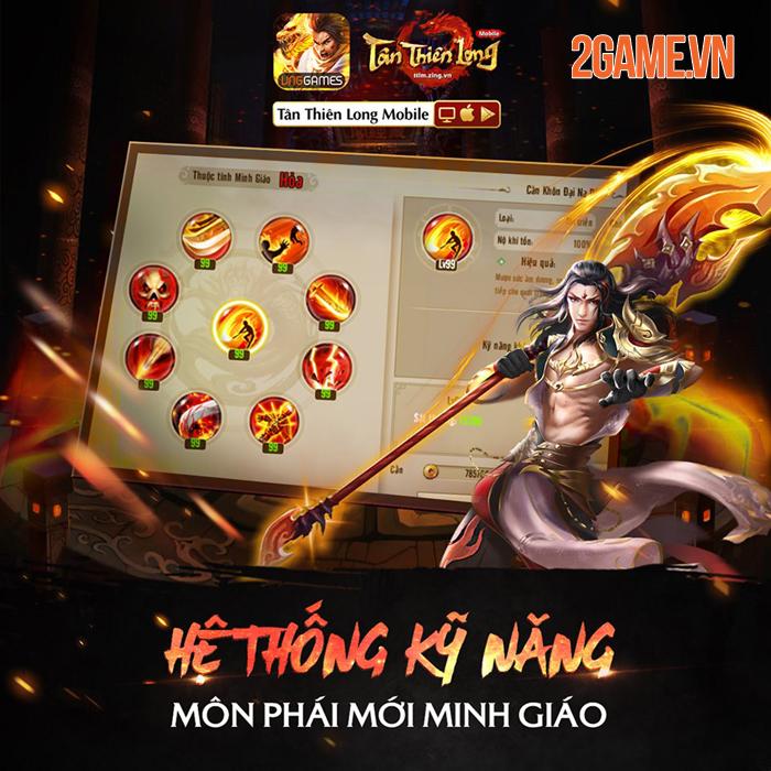 Tân Thiên Long Mobile VNG: Tìm hiểu sức mạnh Thánh hỏa của môn phái mới Minh Giáo 4