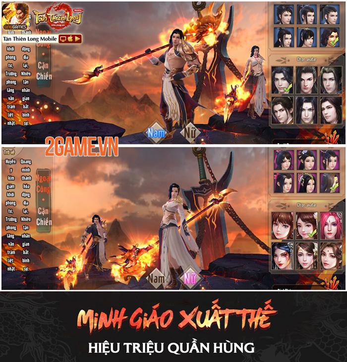Tân Thiên Long Mobile VNG: Tìm hiểu sức mạnh Thánh hỏa của môn phái mới Minh Giáo 1